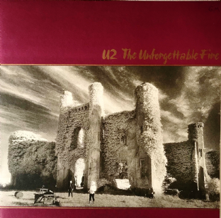U2 - The Unforgettable Fire (LP) (VG/VG)